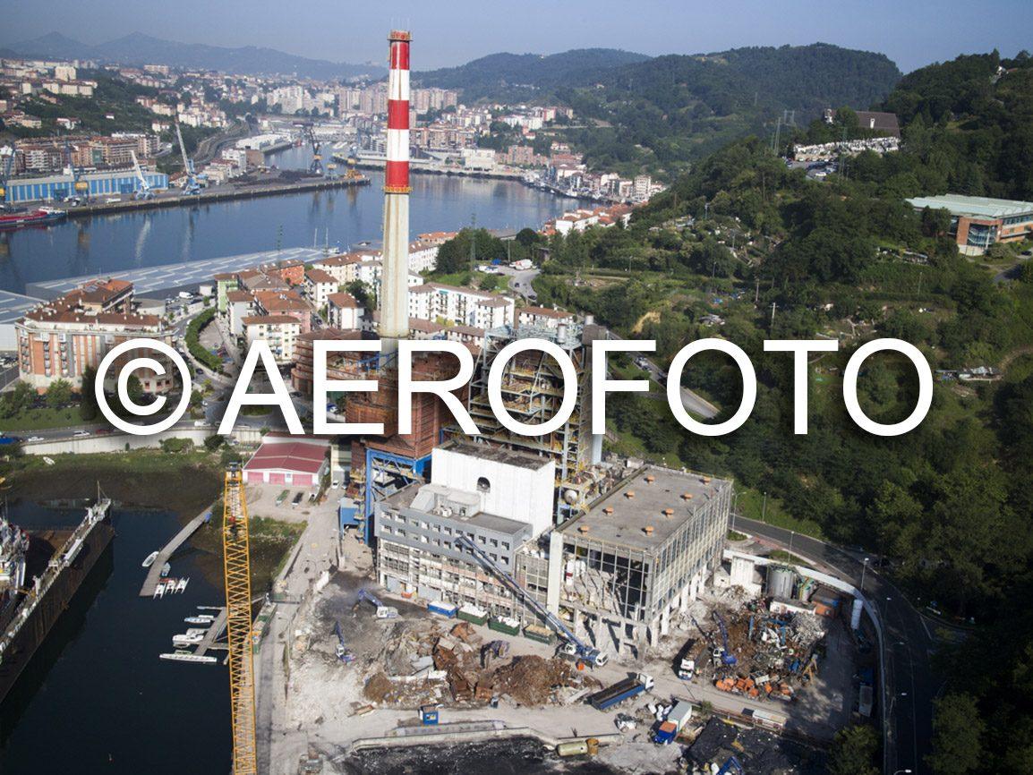 Fotografía aérea vídeo aéreo zeppelin drones seguimiento obra subestaciones eléctricas